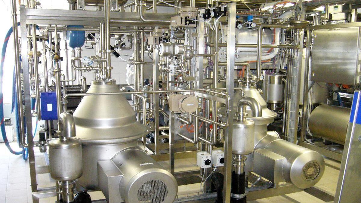 Industrielle Automation Käserei Molkerei Davos