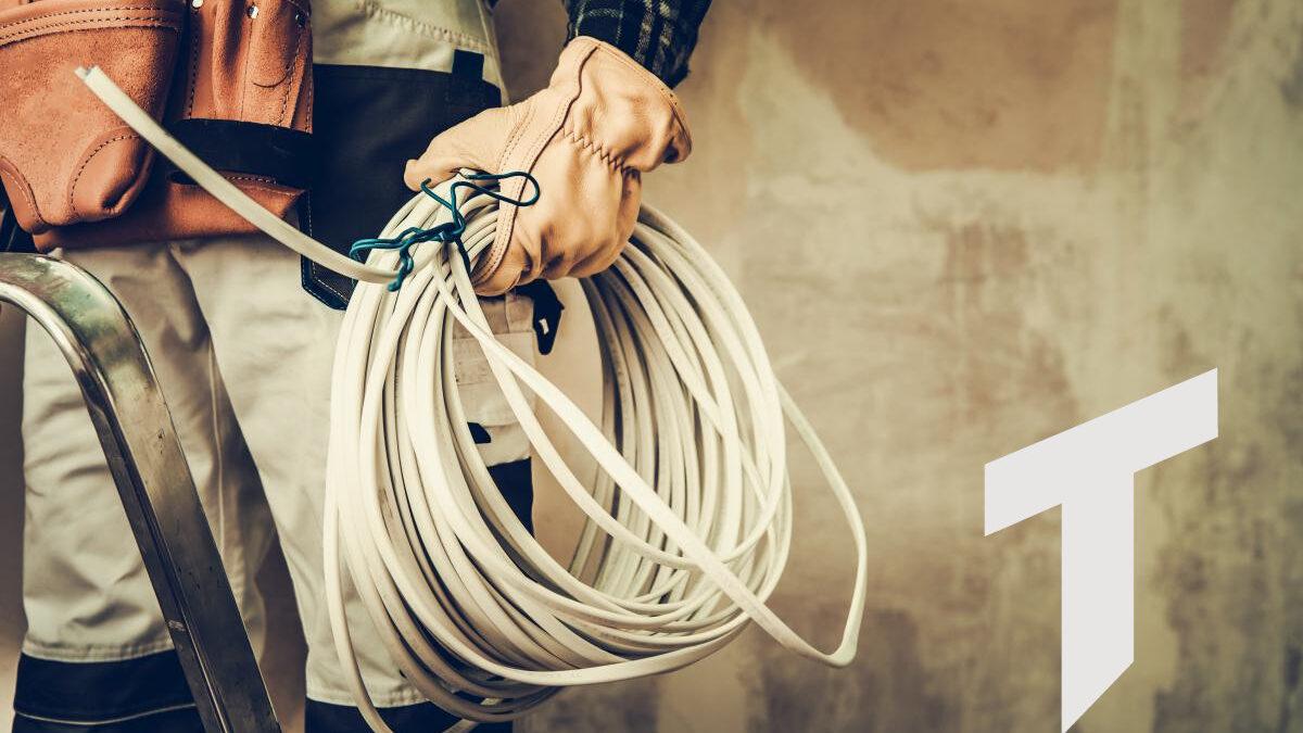 Elektroinstallateur Kabel elektrische Installation Tophinke